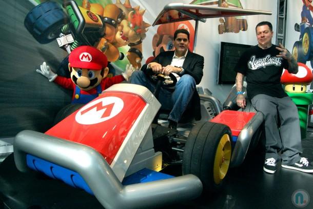 Lo siento Reggie, pero no te llevas el Kart...