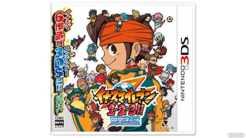 Inazuma Eleven 1.2.3. 3DS 05 boxart
