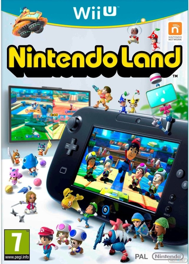 Nintendo Land Wii U boxart
