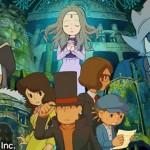 Profesor Layton y el Legado de Azran para 3DS recibe fecha y precio en Japón