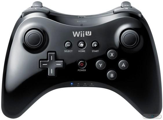Wii U Accesorios Mando PRO negro 16-09 03