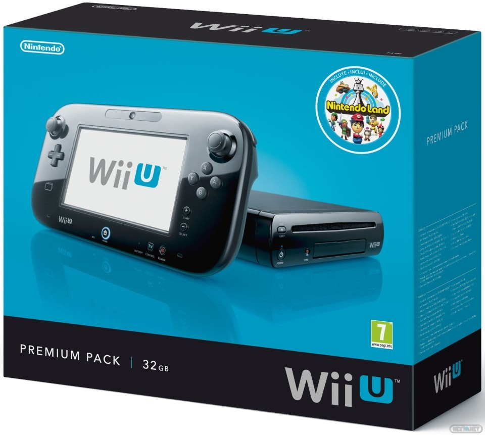 Wii U Pack Premium Consola