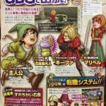 Dragon Quest VII Remake confirmado para 3DS. Primer scan donde apreciar el gran lavado de cara