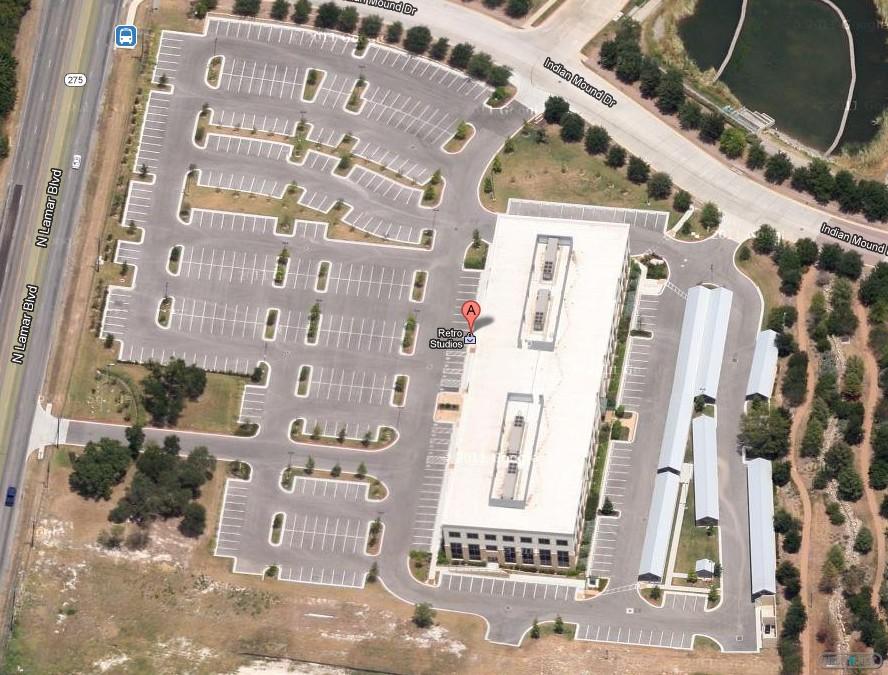 Retro Studios nuevas oficnas desde Google Maps