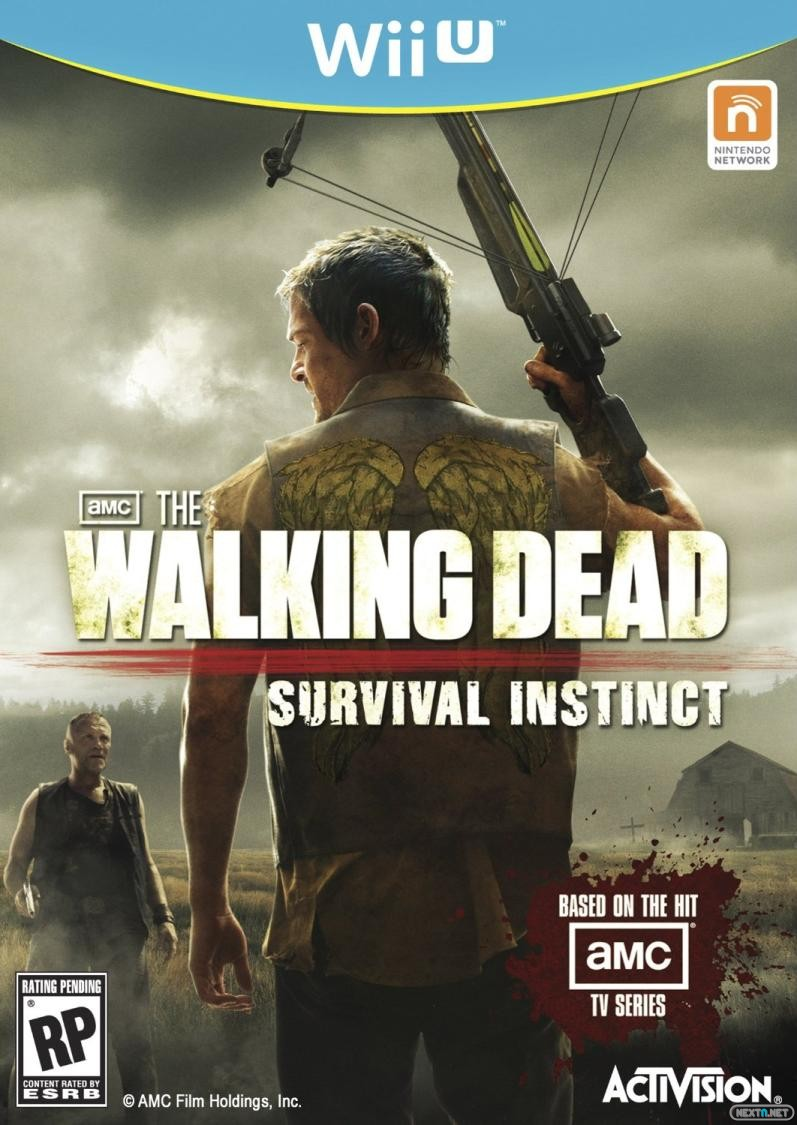 1301-14 The Walking Dead Boxart Wii U