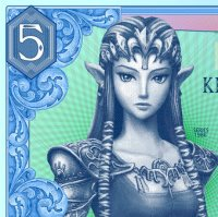 Rupias en billete Zelda 5