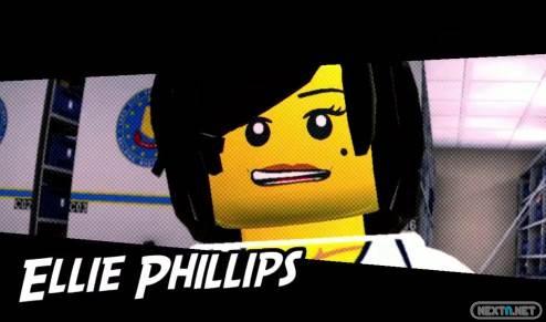 1303-14 LEGO City Undercover Ellie Philips