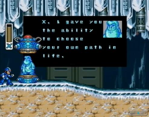 1304-07 Mega Man X cápsula holográfica Dr. Light