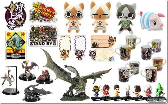 1304-09 Monster Hunter Sengoku Basara Merchadising 01