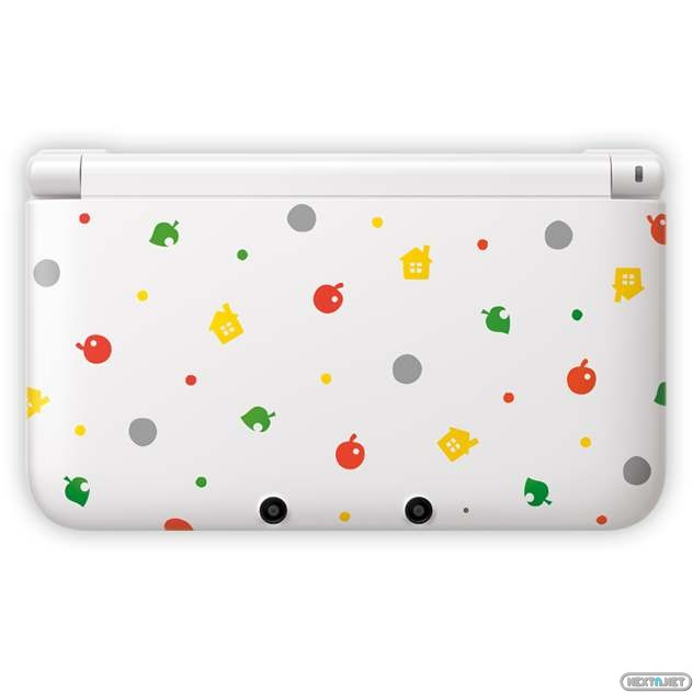 1304-16 3DS XL modelo Animal Crossing New Leaf