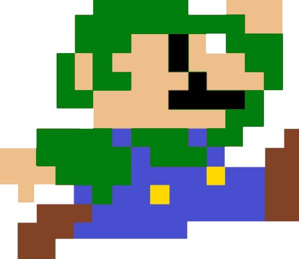 1304-21 Luigi Pixel