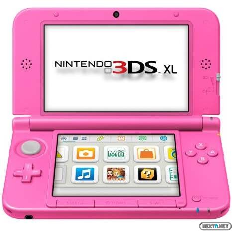 1304-22 3DS XL Rosa Chicle 01
