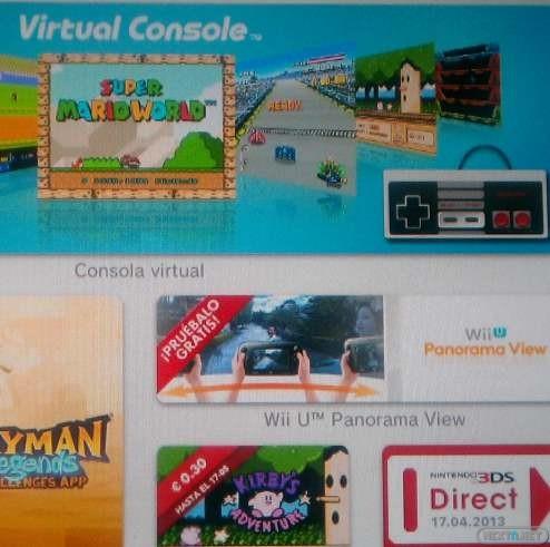 1304-27 eShop Panorama View y Consola Virtual