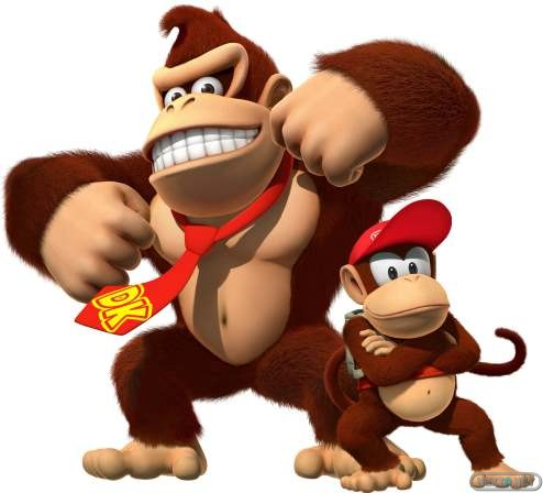 1305-05 Donkey Kong y Diddy Kong