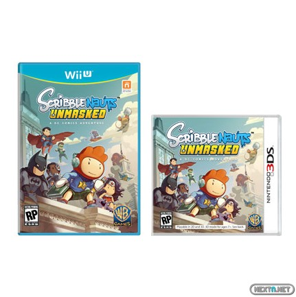 1305-25 Scribblenaut Unmasked boxart 3DS-Wii U pequeña