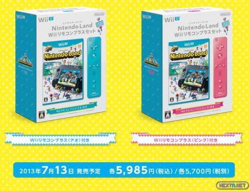 1305-30 Nintendo Land con Wiimote Plus