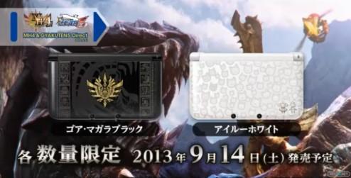1305-31 Monster Hunter 4 3DS modelos