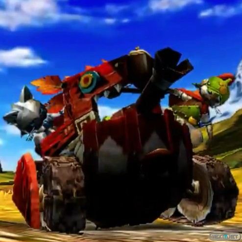 1306-01 Monster Hunter 4 Mini Tanque Felyne