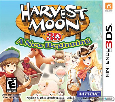 1306-05 Harvest Moon A New Beggining 3DS boxart