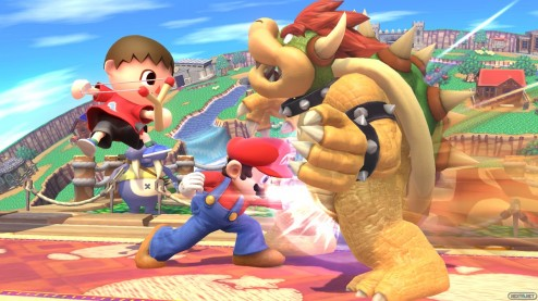 1306-12 Super Smash Bros. 3DS WiI U 73