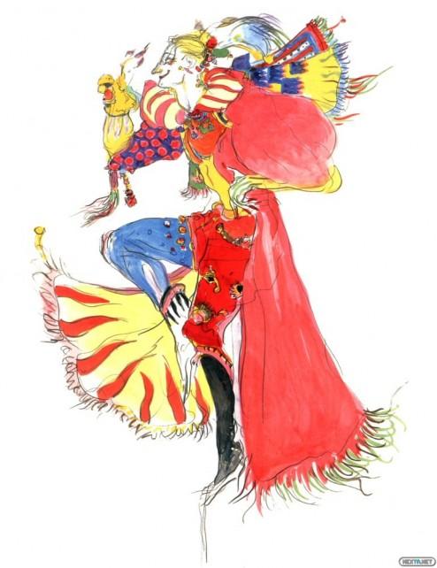 1306-13 Final Fantasy VI Kefka