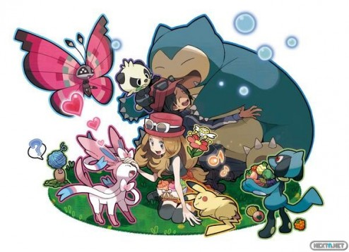 1306-14 Pokémon x-y artwork