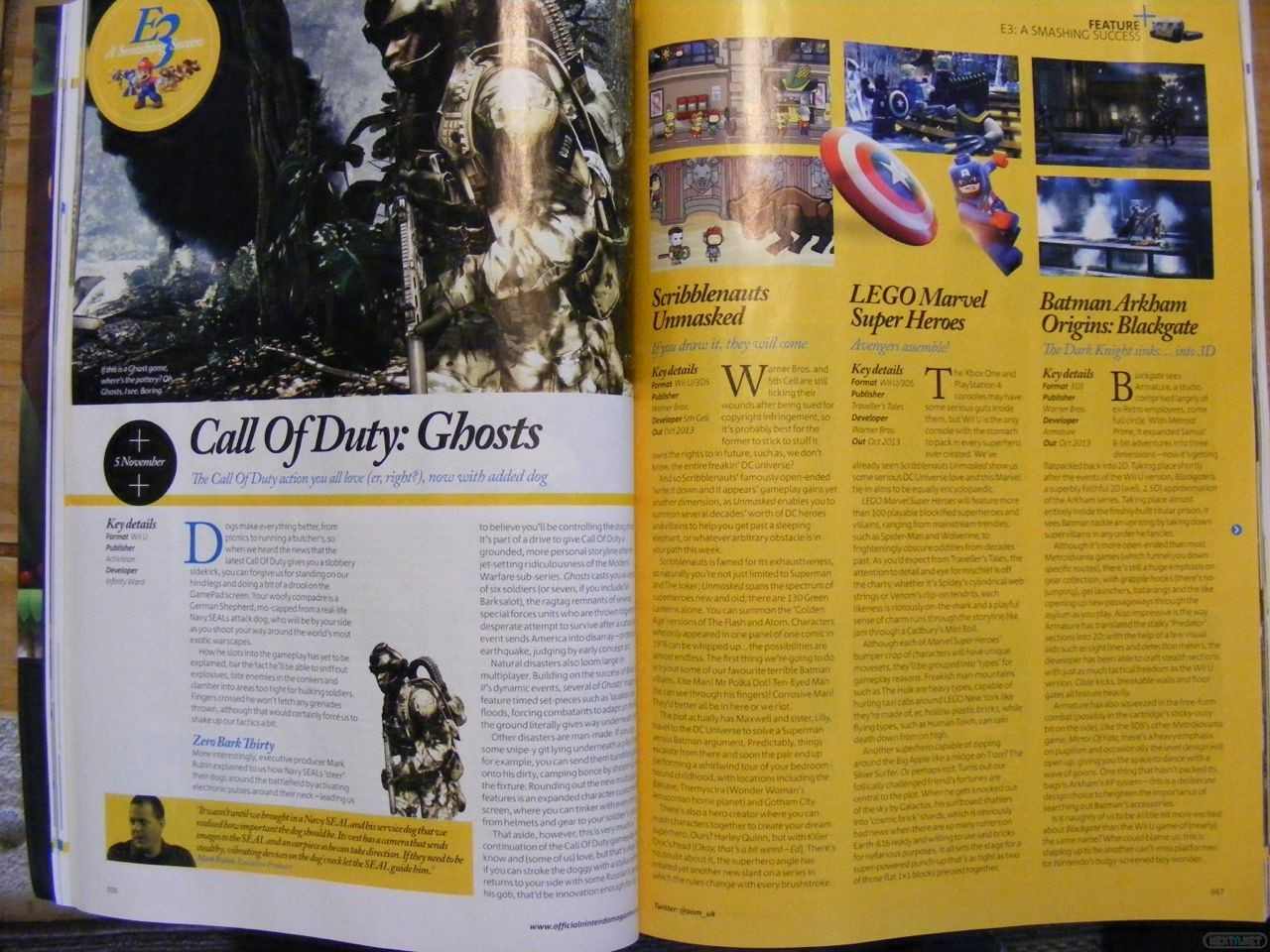 1306-30 ONM Call of Duty Ghosts