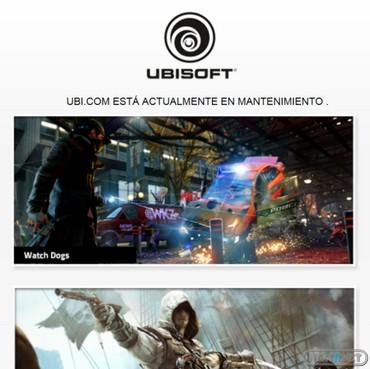 1307-02 Ubisoft en mantenimiento