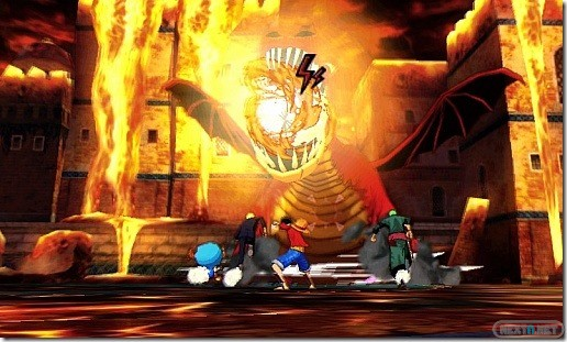 1307-12 One Piece Unlimited World Red