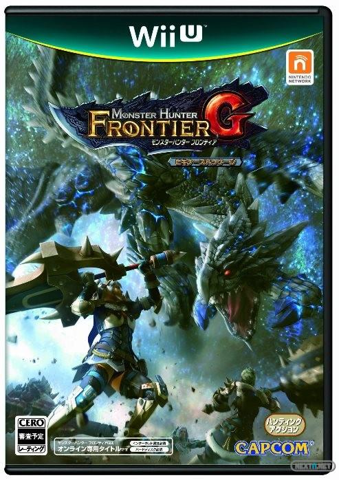 1308-03 Monster Hunter Frontier G Wii U boxart