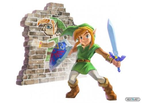 1308-08 The Legend of Zelda A Link Between Worlds nuevo artwork