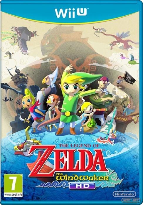 1308-08 The Legend of Zelda Wind Waker HD boxart euro