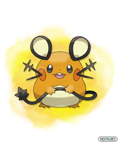 1308-09 Pokémon X-Y Dedenne artwork