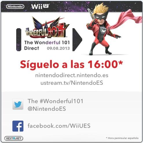 1308-09 The Wonderful 101 Nintendo Direct 09-08-13