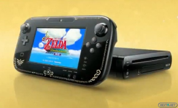 1308-24 Wii U Premium Pack Zelda Wind Waker HD GamePAd