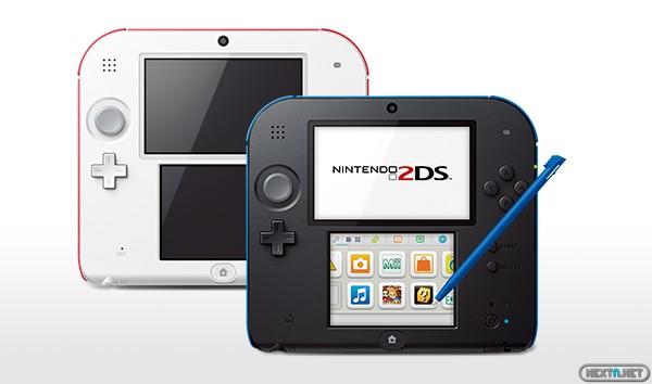 1308-28 Nintendo 2DS consola