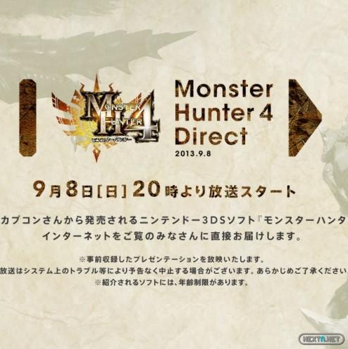 1309-06 Monster Hunter 4 Direct
