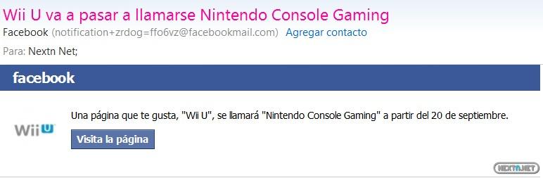 1309-07 Nuevo nombre Facebook Wii U