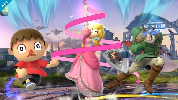 1309-12 Smash Bros. Princesa Peach 06