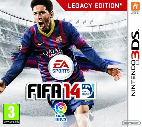 1309-23 FIFA 14 Legacy Edition 3DS boxart