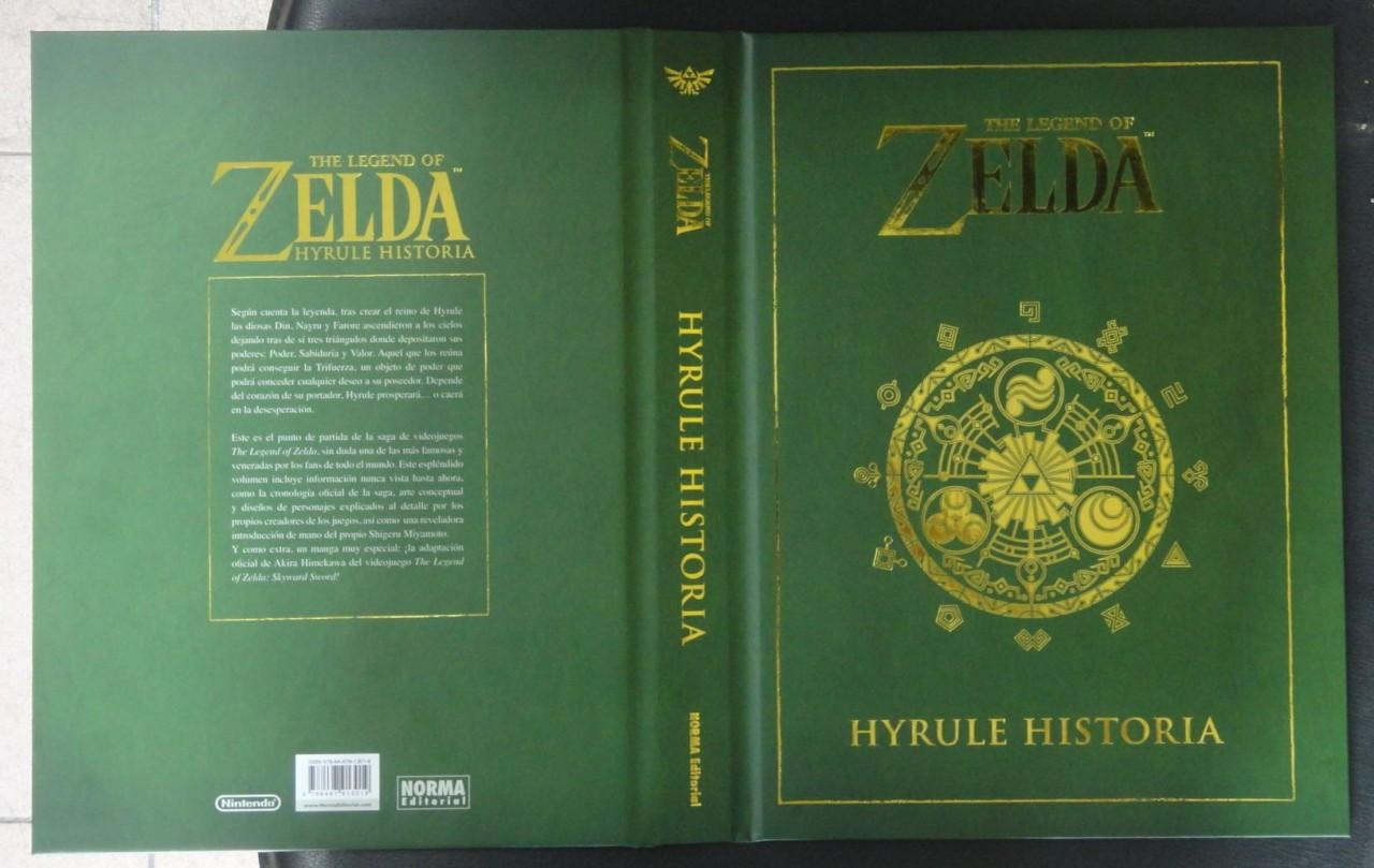 1309-25 Hyrule Historia portada en castellano