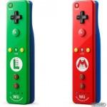 Un vistazo de cerca a los Wiimotes Plus de Mario y Luigi, que se pondrán a la venta el 8 de noviembre