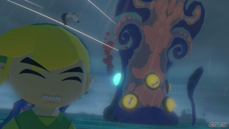 1310-13 Zelda Wind Waker HD Auto retrato