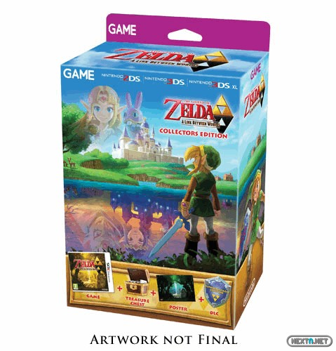 1310-18 Pack especial Zelda A Link Between Worlds 3DS