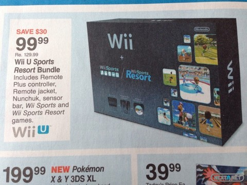 1310-18 Wii U Sports Resort Fred Meyer