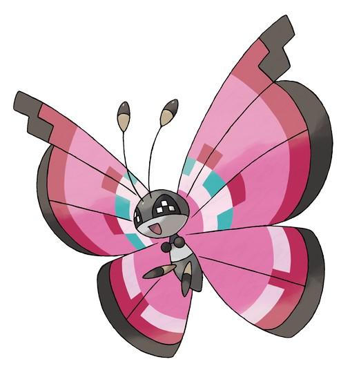 1310-21 Pokémon X  - Y  Vivillon