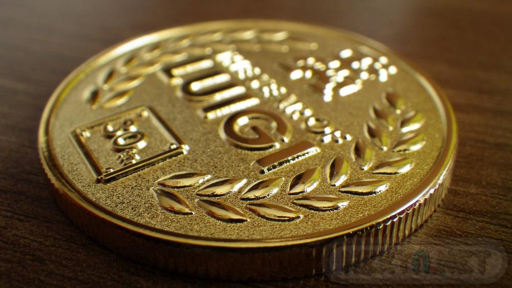 Moneda Año de Luigi 30 Aniversario