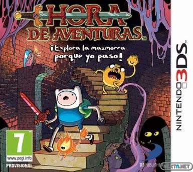 1311-10 Hora de Aventuras explora mazmorra yo paso boxart
