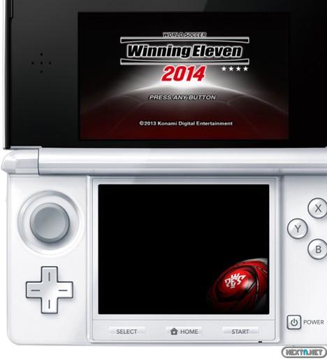 de imágenes de World Soccer Winning Eleven 2014 para 3DS (PES