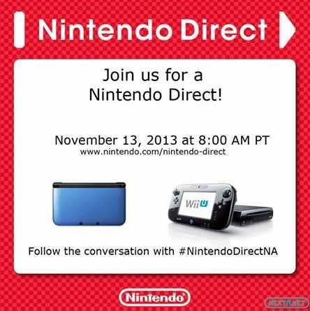 1311-12 Nintendo Direct 13-11-13
